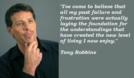 Failure Tony Robbins